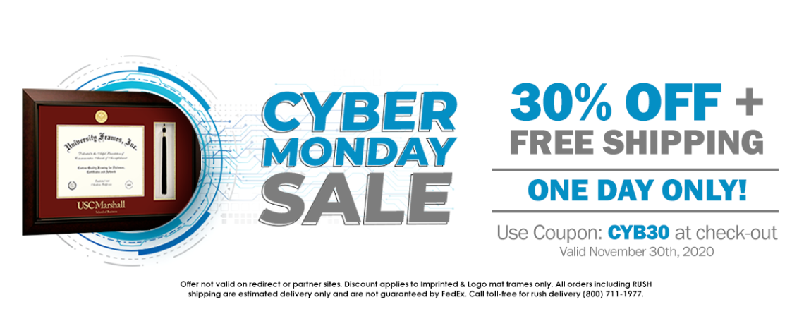 University Frames Cyber Monday Sale: One More Reason to Shop