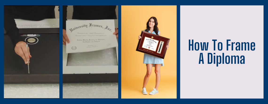 How to Frame a Diploma