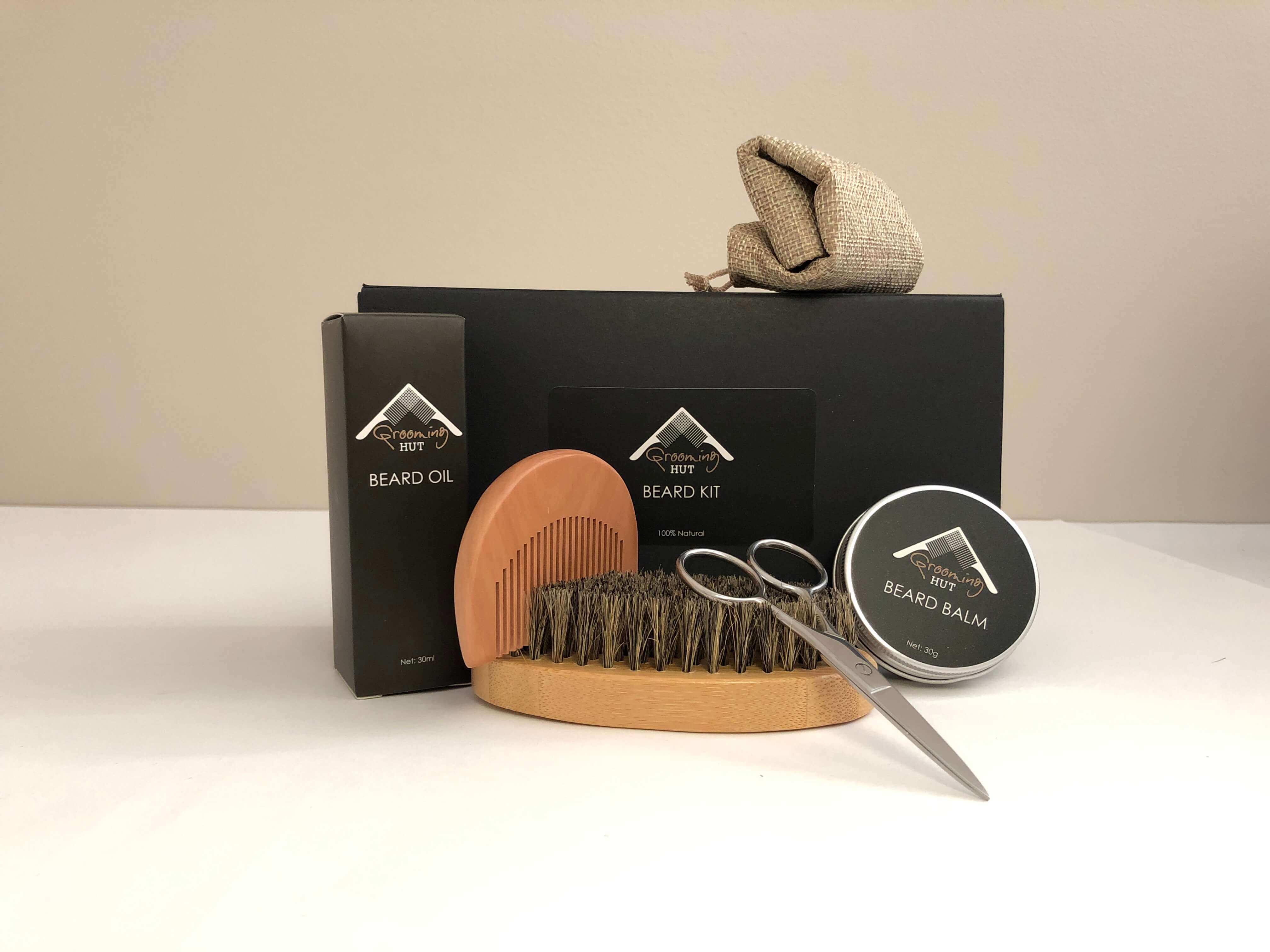 Men's Beard Grooming Kit