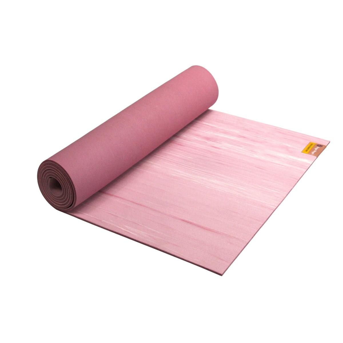 Para Rubber Yoga Mat in Rose