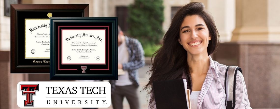 Texas Tech Diploma Frames: 17 Best Designs to Showcase Your Diploma