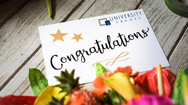 University Frames Gift Card
