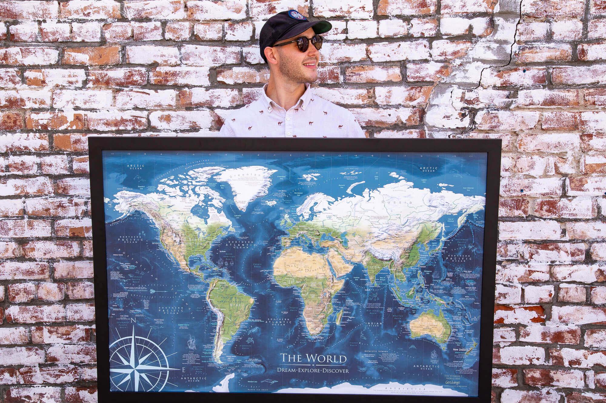USA & World Travel Maps