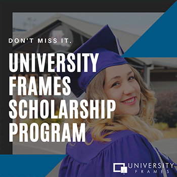 University Frames Scholarship Program