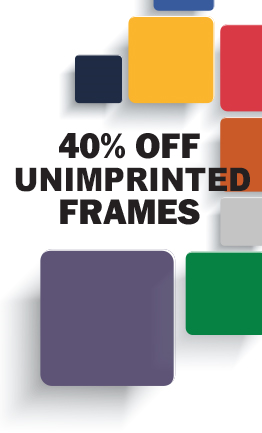 40 off on plain mat frames