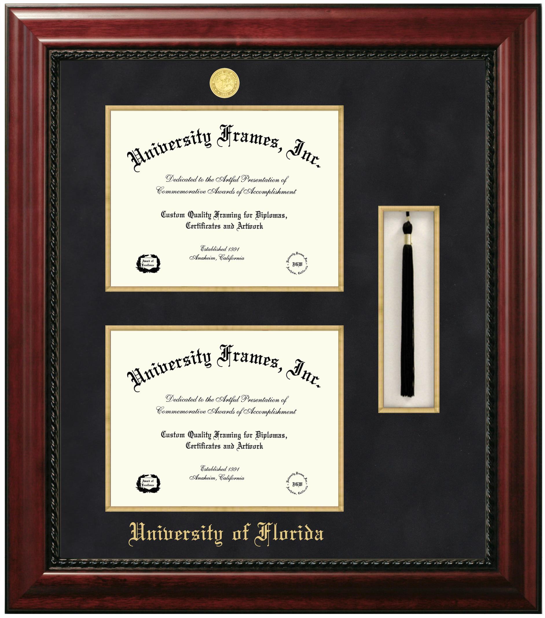 Double Diploma Frame Double Degree Frames University Frames