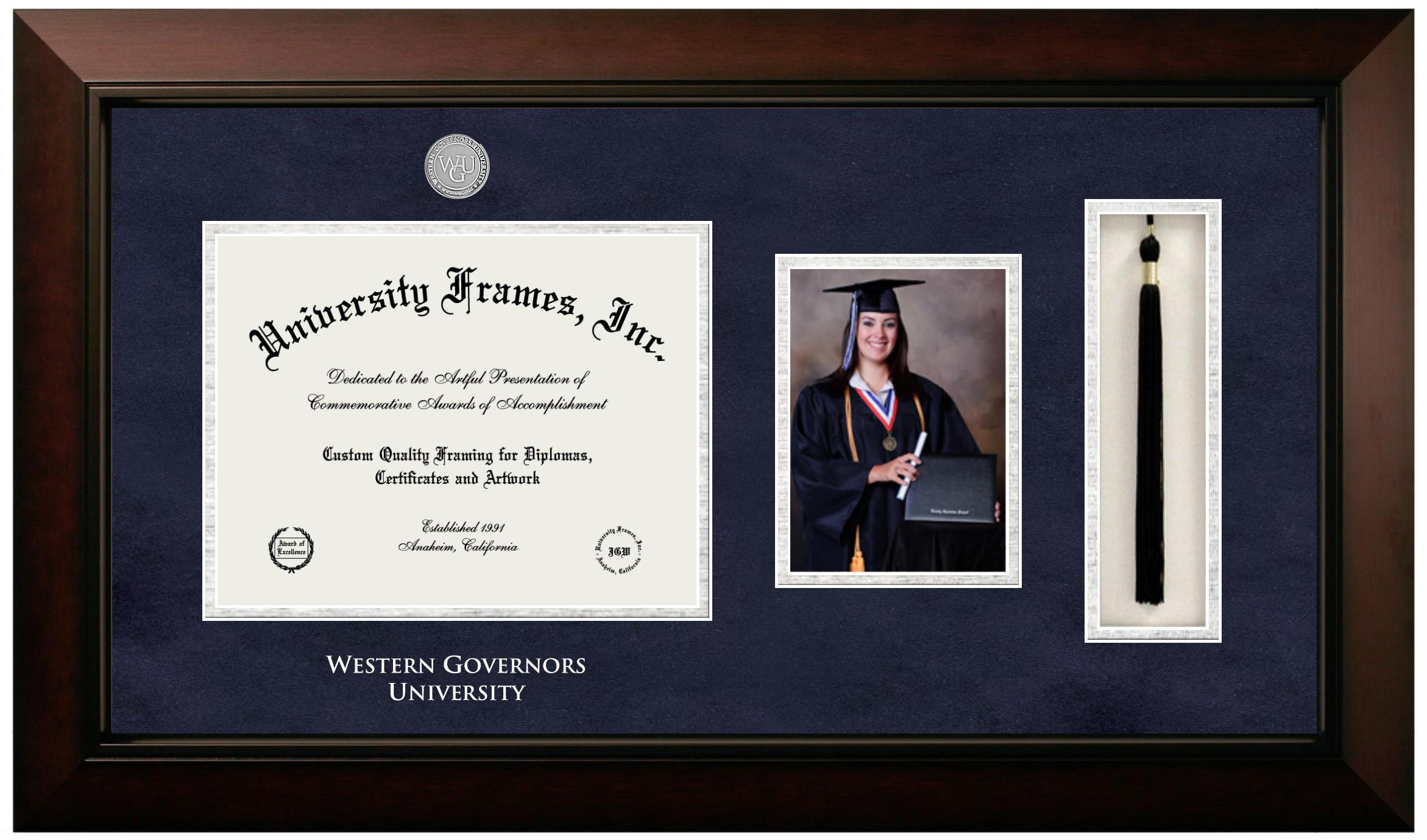 Custom Made Wood Diploma Frames-University Frames