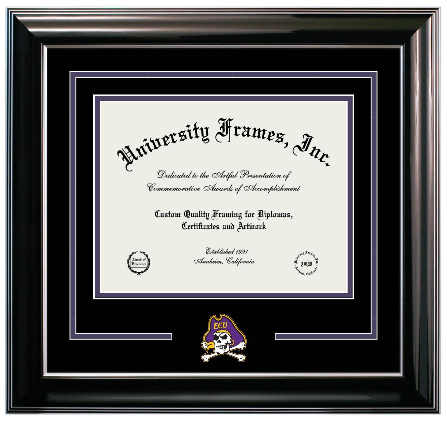 Custom Made Wood Diploma Frames University Frames