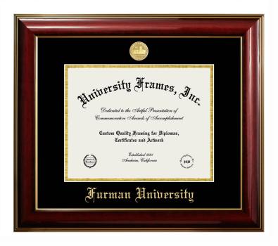 Furman University Diploma Frame University Frames