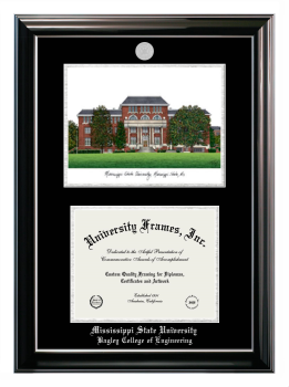 MSU Mississippi State University diploma frames college tassel holder case school campus photo degree matted certificate graduation gift