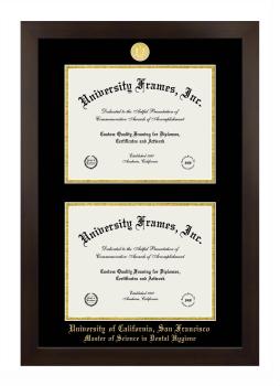 University Of California San Francisco Master Of Science In Dental Hygiene Diploma Frame University Frames