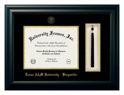 Texas A M University Kingsville Diploma Frame University Frames