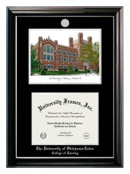 University Of Oklahoma Tulsa College Of Nursing Diploma Frame University Frames