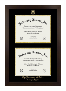 University Of Tulsa College Of Law Diploma Frame University Frames