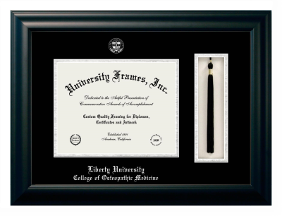 Liberty University College Of Osteopathic Medicine Diploma Frame University Frames